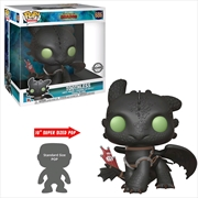 "How to Train Your Dragon 3: The Hidden World - Toothless 10"" US Exclusive Pop! Vinyl [RS] 