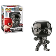 Justice League Movie - Flash (Hematite) Chrome Pop! Vinyl | Pop Vinyl