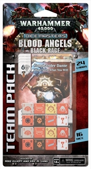 Dice Masters - Warhammer 40K Blood Angels Black Rage Team Pack