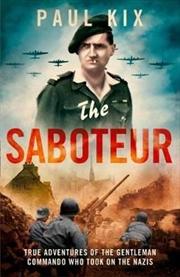 Saboteur | Paperback Book