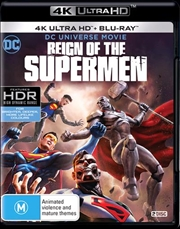 Reign Of The Supermen | Blu-ray + UHD