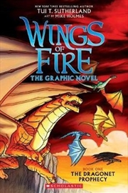 Wings of Fire: The Graphic Novel #1: The Dragonet Prophecy | Paperback Book