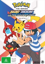 Pokemon The Series - Sun and Moon - Ultra Adventures - Collection 2