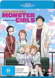 Interviews With Monster Girls | Blu-ray + DVD - Complete Series