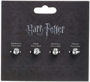 Spells Charm Bead Set Of 4