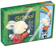 Things I Love About School : Storybook and Pencil Case | Paperback Book