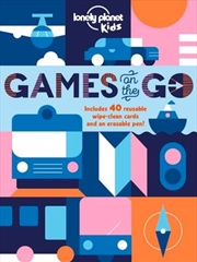 Lonely Planet Kids - Games On The Go | Hardback Book
