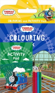 Thomas and Friends: Colouring and Activity Pack | Paperback Book