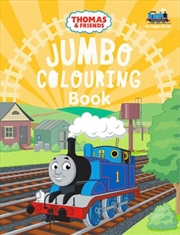 Thomas and Friends: Jumbo Colouring | Paperback Book