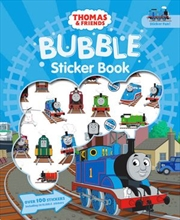 Thomas And Friends: Bubble Sticker Book