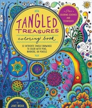 Tangled Treasures Coloring Book | Paperback Book