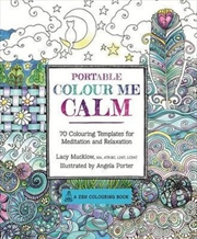 Portable Color Me Calm | Paperback Book