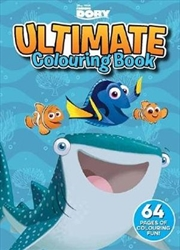 Ultimate Colouring Book: Finding Dory | Paperback Book
