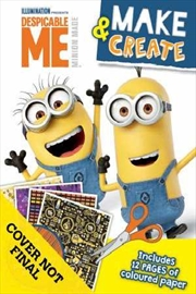 Despicable Me Make & Create Activity Book