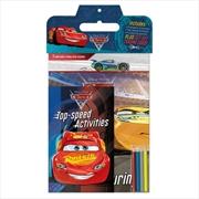 Disney Pixar Cars 3 Activity Pack   Paperback Book