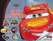Giant Activity Pad: Disney Cars 3 | Paperback Book