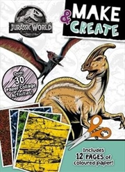 Jurassic World: Make & Create Activity Book | Paperback Book