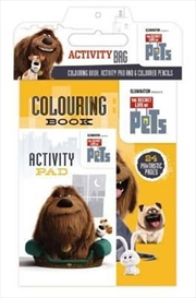 Secret Life Of Pets: Activity Bag | Paperback Book