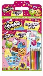 Shopkins Activity Bag | Paperback Book