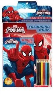 Marvel: Ultimate Spider-Man Activity Bag | Paperback Book