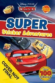 Disney: Cars Super Sticker Adventures | Paperback Book
