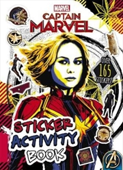 Marvel: Captain Marvel Sticker Activity Book | Paperback Book
