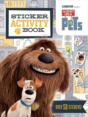 Secret Life Of Pets: Sticker Activity Book | Paperback Book