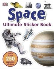 Space: Ultimate Sticker Book | Paperback Book