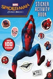 Spider-Man Homecoming: Sticker Activity Book | Paperback Book