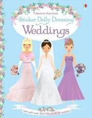 Sticker Dolly Dressing Wedding | Paperback Book