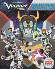 Sticker Scene Fun : Voltron | Paperback Book