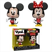 Mickey Mouse - Mickey & Minnie Vynl. | Pop Vinyl