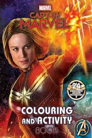 Marvel: Captain Marvel Colouring and Activity Book | Paperback Book