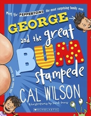 George and the Great Bum Stampede #1 | Paperback Book