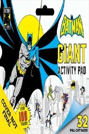 DC Comic: Batman Giant Activity Pad