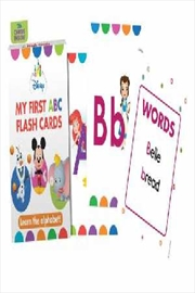 Disney: My First Abc Baby Flash Cards