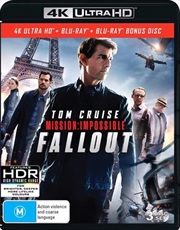 Mission Impossible - Fallout | Blu-ray + UHD