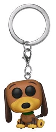 Toy Story - Slinky Dog US Exclusive Pocket Pop! Keychain [RS] | Pop Vinyl