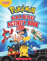 Pokemon: Alola Deluxe Activity Book | Paperback Book
