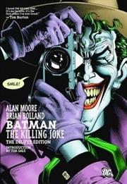 Batman The Killing Joke Deluxe Edition | Hardback Book