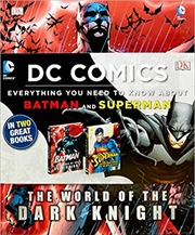 Batman/Superman Ultimate Guide | Hardback Book