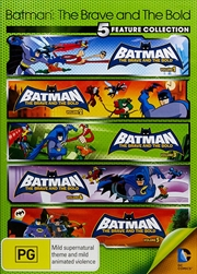 Batman Brave And Bold - Season 1 Vol 1-5 | DVD