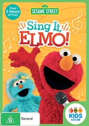 Sesame Street - Sing It, Elmo! | DVD