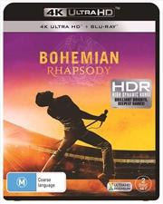 Bohemian Rhapsody | Blu-ray + UHD - (BONUS POSTER)