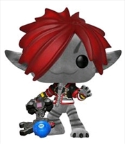 Kingdom Hearts 3 - Sora (Monsters Inc) Flocked US Exclusive Pop! Vinyl [RS]