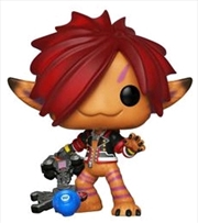 Kingdom Hearts 3 - Sora Orange (Monsters Inc) US Exclusive Pop! Vinyl [RS]
