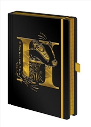 Harry Potter - Hufflepuff Foil A5 Premium Notebook | Merchandise