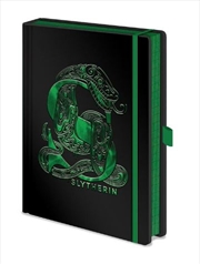 Harry Potter - Slytherin Foil A5 Premium Notebook | Merchandise
