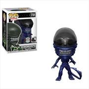 Alien - 40th Anniversary Xenomorph Blue Metallic Specialty Series Pop! Vinyl