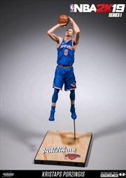 NBA - 2K series 01 Kristaps Porzingis Action Figure